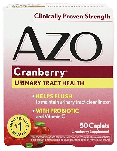 Azo: Urinary Tract Health Cranberry, 50 tabs (2 pack), [wellica]
