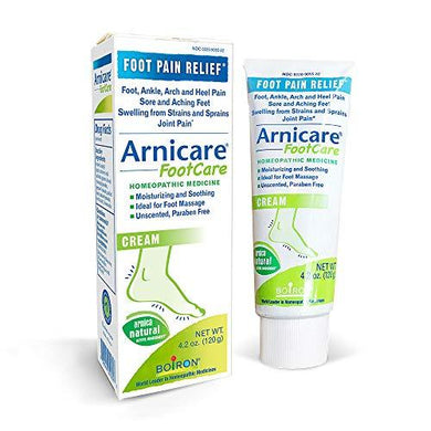 Boiron Arnicare Footcare Homeopathic Medicine for Pain Relief, 4.2 Ounce (Pack of 1)