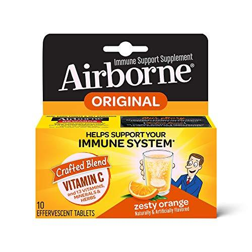 Airborne, Cold & Flu Relief, virus buster - Wellica