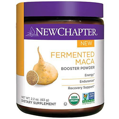 New Chapter Organic Maca Powder - Fermented Maca Booster Powder for Energy + Endurance + Recovery Support – 45 Servings