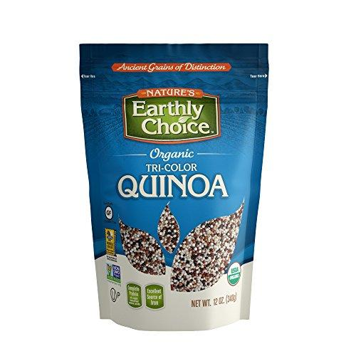 Nature's Earthly Choice Organic Tricolor Quinoa, 12 Ounce, [wellica]