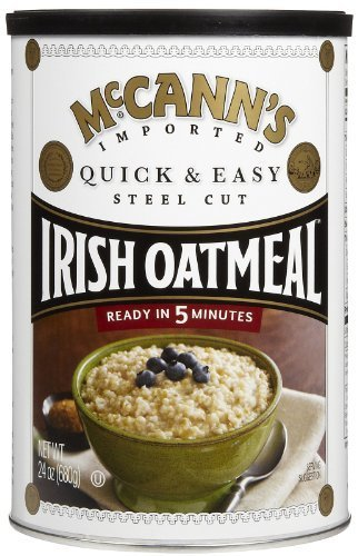 McCanns Quick & Easy Steel Cut Oatmeal Can, 24 oz
