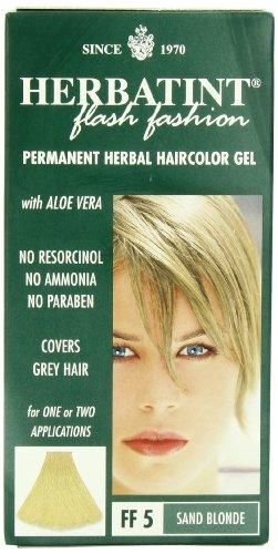 Herbatint Flash Fashion Hair Color, Sand Blonde, 4 Fluid Ounce
