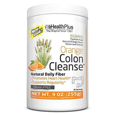 Colon Cleanse Stevia Orange Health Plus 9 oz Powder