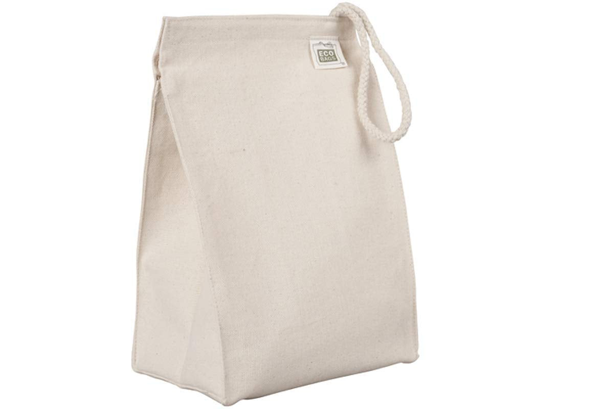Eco-Bags Products Organic Cotton Lunch Bag, [wellica]