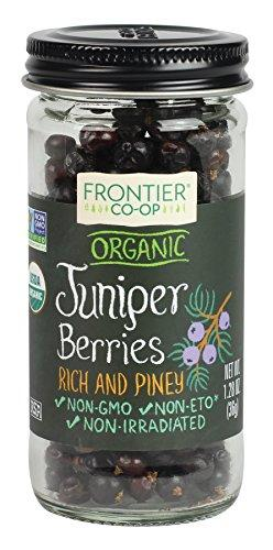 Frontier Natural Products Juniper Berries, Og, Whole, 1.28-Ounce, [wellica]