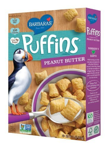 Barbara'S Bakery Peanut Butter Puffins 11 OZ (Pack of 6), [wellica]