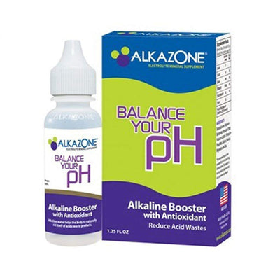 AlkaZone - Alkaline pH Booster Drops 1.25 fl oz (5 - Pack), [wellica]