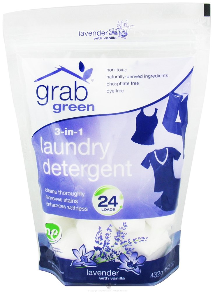 Grab Green 3-in-1 Laundry Detergent, [wellica]