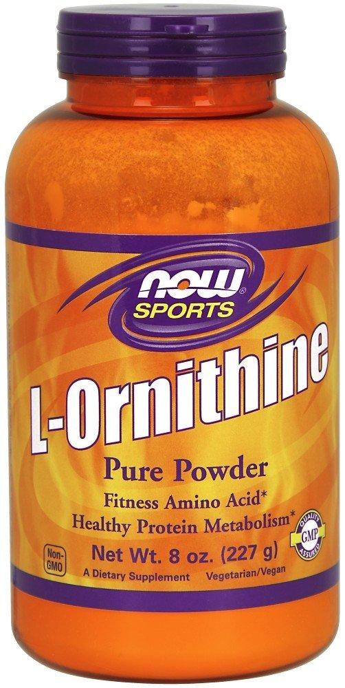 NOW Sports Nutrition, L- Ornithine Powder, Protein Metabloism* and Urea Detox*, Amino Acids, 8-Ounce - Wellica - {{ shop.location }}