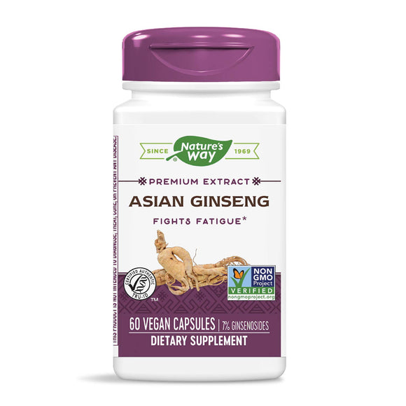Ginseng, Herbal Supplements, Nature's Way, virus buster, Vitamins & Dietary Supplements - Wellica