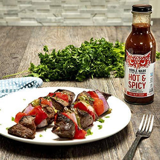 The New Primal, Marinade And Cooking Sauce Spicy, 12 Fl Oz, [wellica]