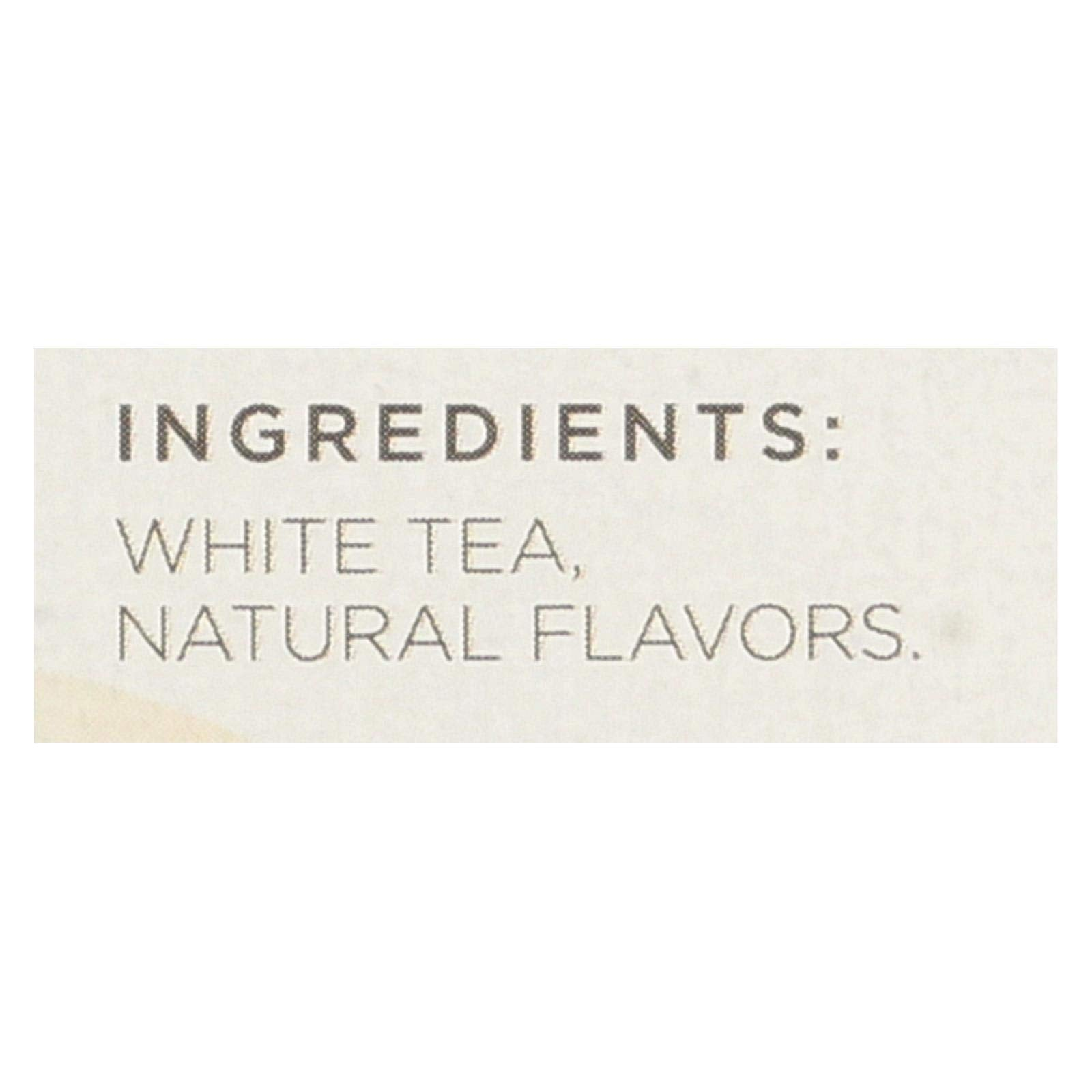 Tazo Vanilla Apricot White Tea, 20-Count Tea Bags (Pack of 6)