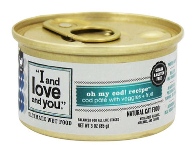 I&Love&You Cat Food Can On My Cod, 3 oz, [wellica]