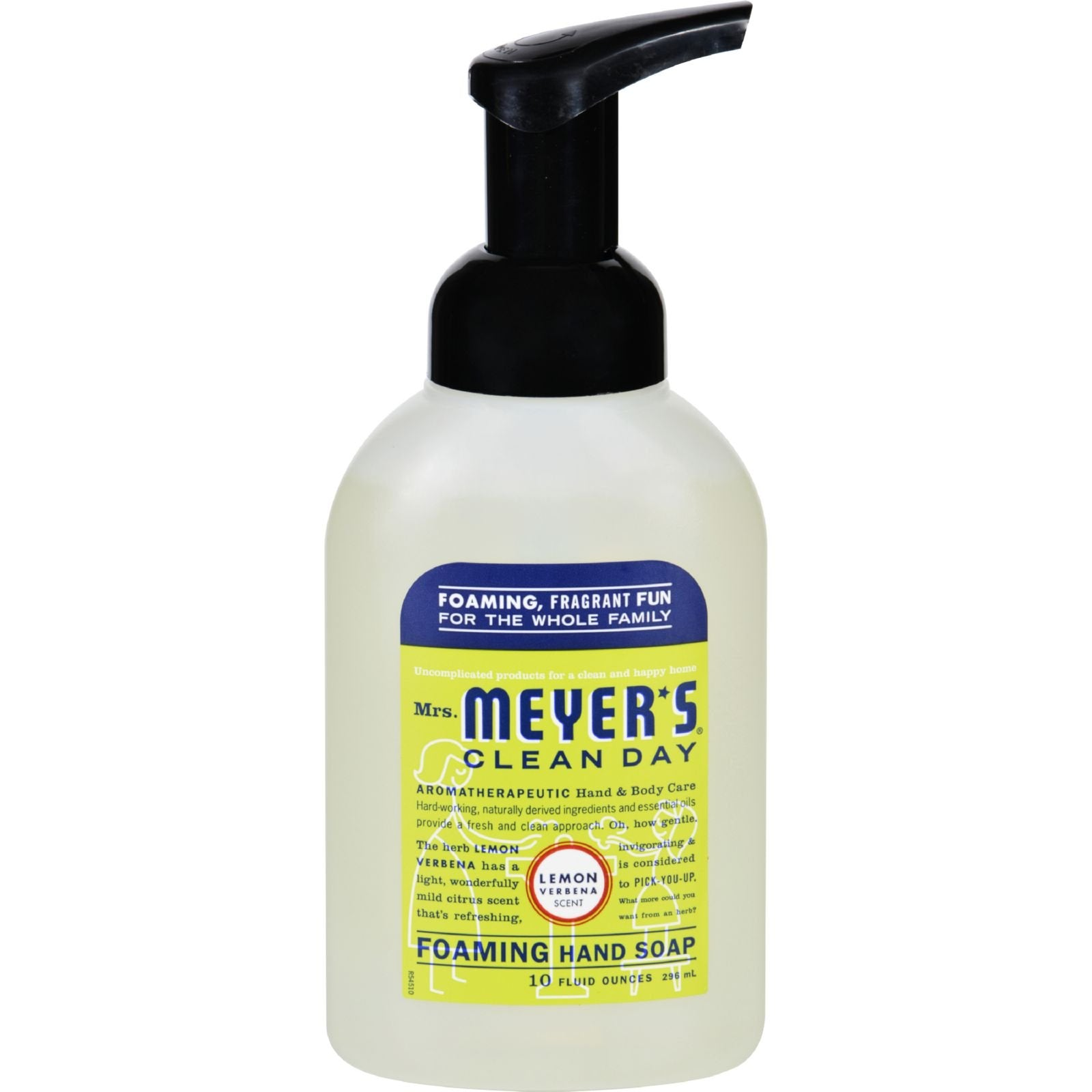 Mrs. Meyer's Clean Day Foaming Hand Soap, Lemon Verbena, 10 Oz (Pack of 6)