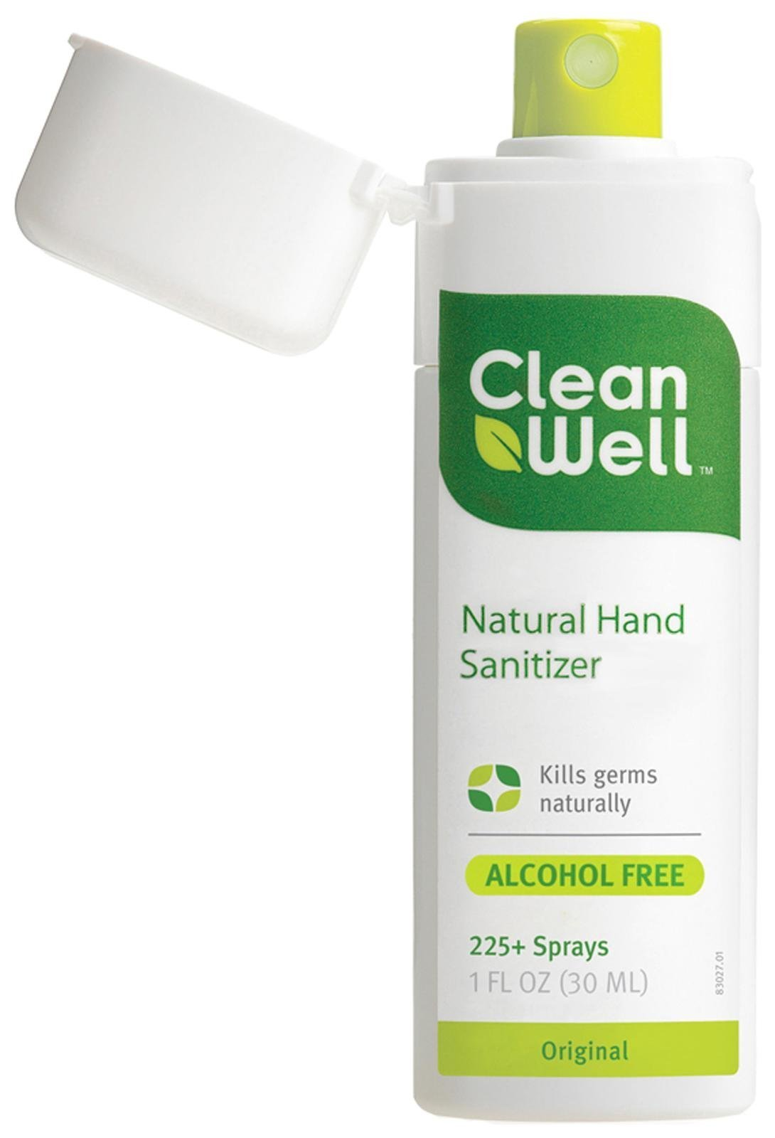 Cleanwell, Sanitiizer Spray Hand Original, 1 Fl Oz, [wellica]