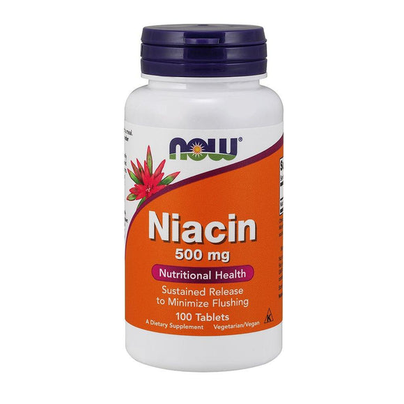 B3 (Niacin), Now Foods, preferred brand, virus buster, Vitamin B, Vitamins, Vitamins & Dietary Supplements - Wellica