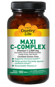 Country Life, virus buster, Vitamin C, Vitamins, Vitamins & Dietary Supplements - Wellica