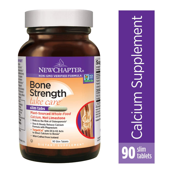 Bone & Joint, Calcium, Minerals, New Chapter, virus buster, Vitamins & Dietary Supplements - Wellica