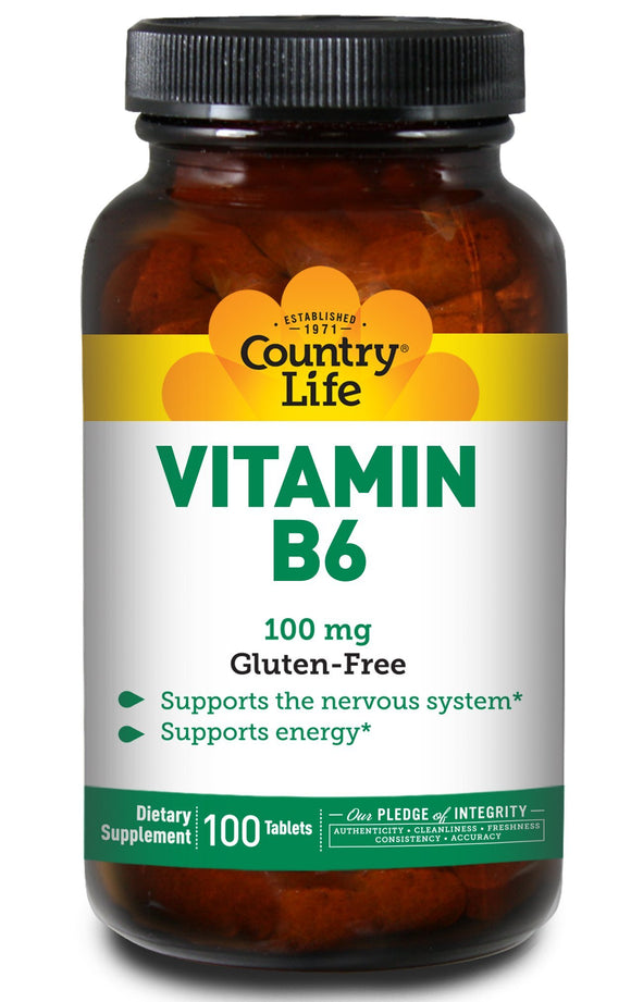 B6, Country Life, virus buster, Vitamin B, Vitamins, Vitamins & Dietary Supplements - Wellica