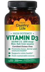 Country Life, virus buster, Vitamin D, Vitamins, Vitamins & Dietary Supplements - Wellica