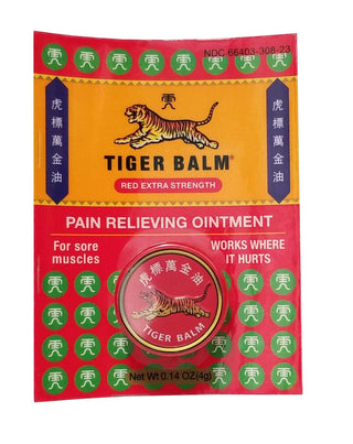 Tiger Balm Extra Strength, 0.14 oz, [wellica]