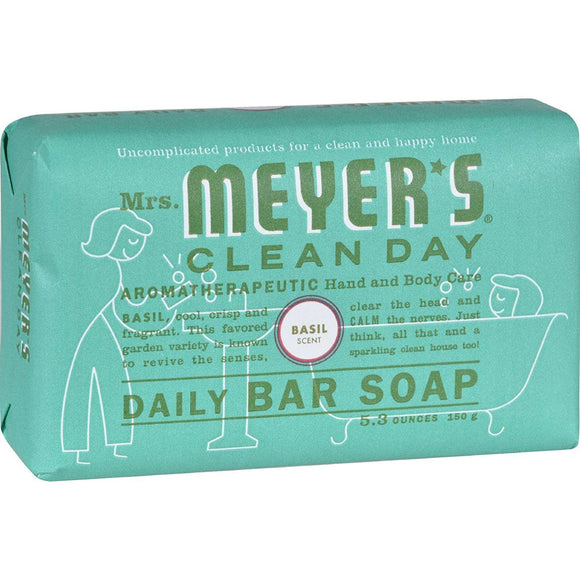 [product_id] - Bar Soap, Beauty & Personal Care, Body, Cleansers, Health and Beauty, Mrs. Meyer's, Mrs. Meyer's Clean Day, Skin Care, Soaps - Wellica