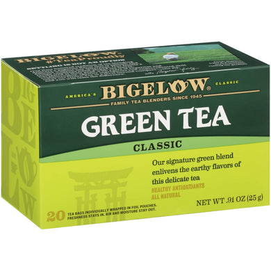 Bigelow Tea Green Tea, 20 Count, [wellica]