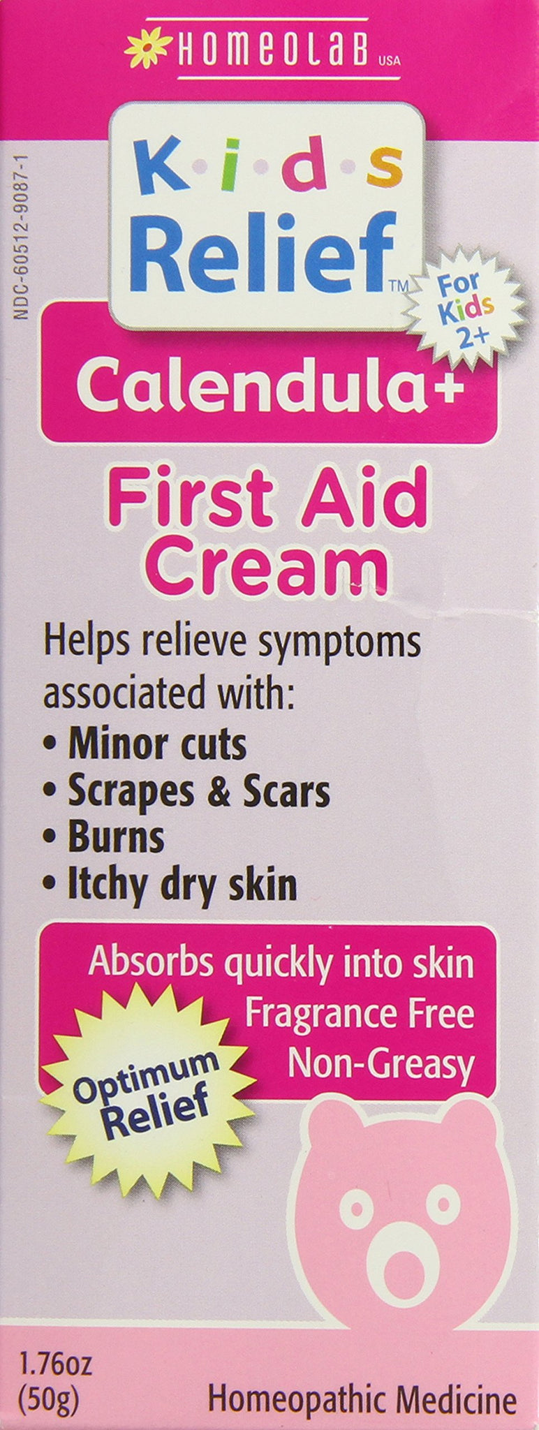 Kids Relief Calendula Plus First Cream, 1.76 Ounce