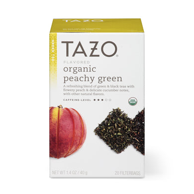 Tazo Peachy Green Tea Organic- 20 Bag