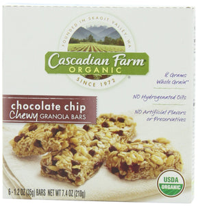 [product_id] - Bars, Cascadian Farm, General Mills, Granola, Grocery, Grocery & Gourmet Food, Snack Foods - Wellica