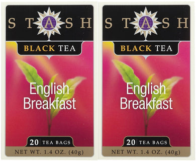 Stash Tea English Breakfast Tea, 20 ct, 2 pk