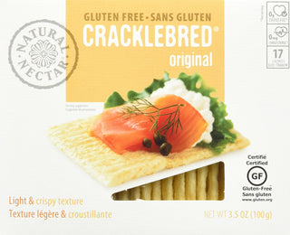 Natural Nectar Tomato Gluten Free Crackle Bred, 3.5 Ounce, Pack of 1