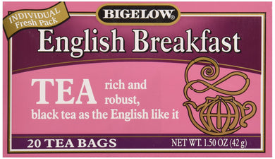 Bigelow Tea English Breakfast Tea, 20 ct, [wellica]