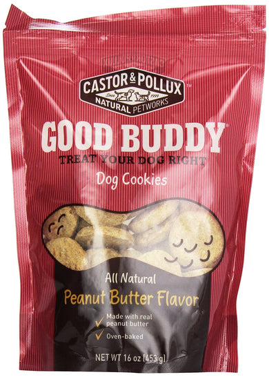 Good Buddy Cookies for Dogs, Peanut Butter, 16 oz