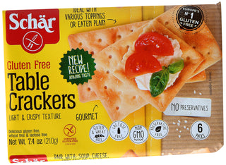 Schar Table Crackers, 7.4 oz
