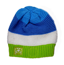 Knit Hat- Blue solid