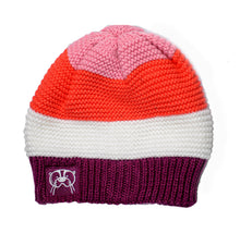 Knit hat- Pink Solid