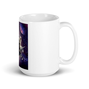 RandomGalaxy 15oz Cat Riding Chicken Turtle Panda Llama Unicorn Mug