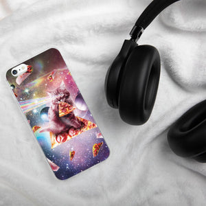 RandomGalaxy iPhone 6 Plus/6s Plus Outer Space Pizza Cat - Rainbow Laser, Taco, Burrito iPhone Case