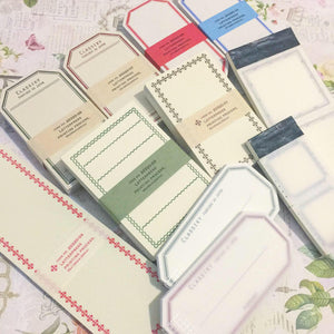 Classiky Bundle Pack Paper Label Sheet Pack 36pcs