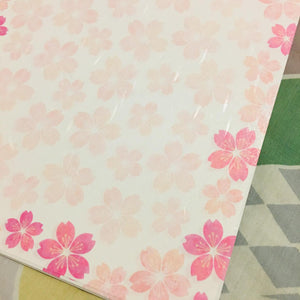 SAMPLER Washi Paper Sheets Sakuras Everywhere