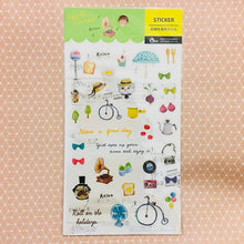 Load image into Gallery viewer, BERG Enjoy Daily Life Transparent Sticker Sheet