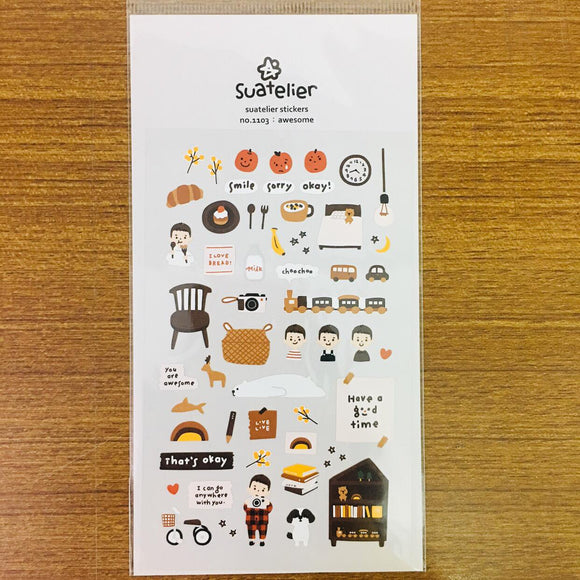 Suatelier Design awesome sticker sheet