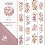 [SAMPLE] 90cm Loidesign Pink Rose Washi Tape