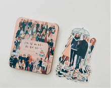 Load image into Gallery viewer, La Dolce Vita You&Me Metal Tin Box Sticker Flakes