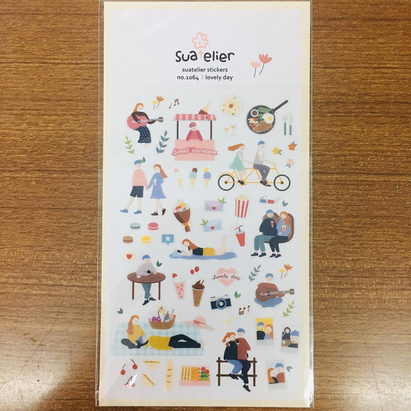Suatelier Design lovely day sticker sheet
