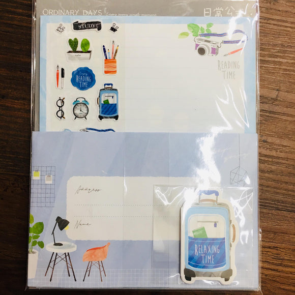 Season Reading Time Paper Stationery Letter Set