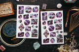 OURS Studio Deep Starry Sky Transfer Sticker Sheet Pack