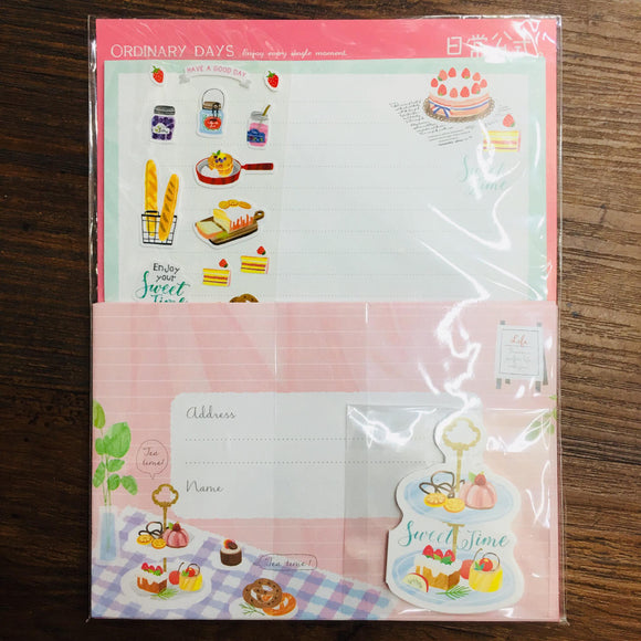 Season Sweet Time Paper Stationery Letter Set